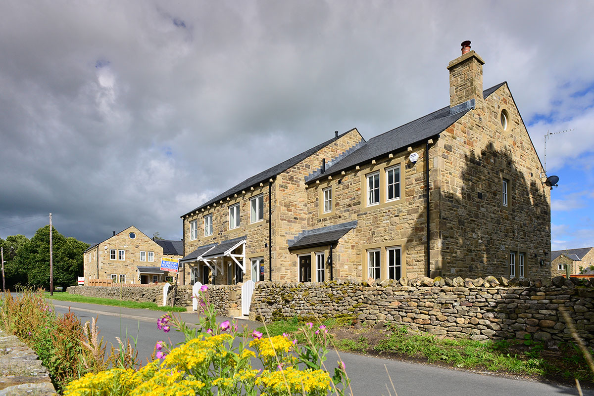 Residential development lords close giggleswick bowman riley for Local residential architects near me