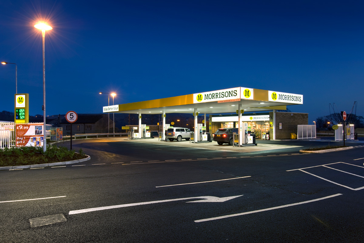Wm Morrison Supermarket Petrol Filling Stations