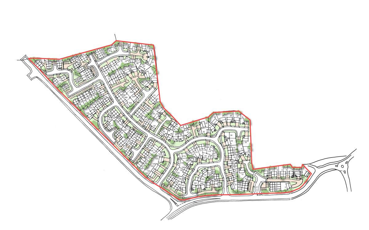 Wyvern Park Residential Master plan – Ilkley
