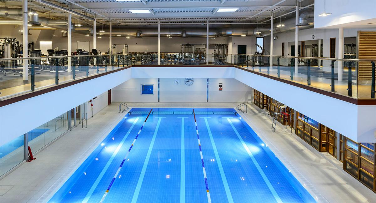 Projects bowman riley architects building consultants - Capital tower fitness first swimming pool ...