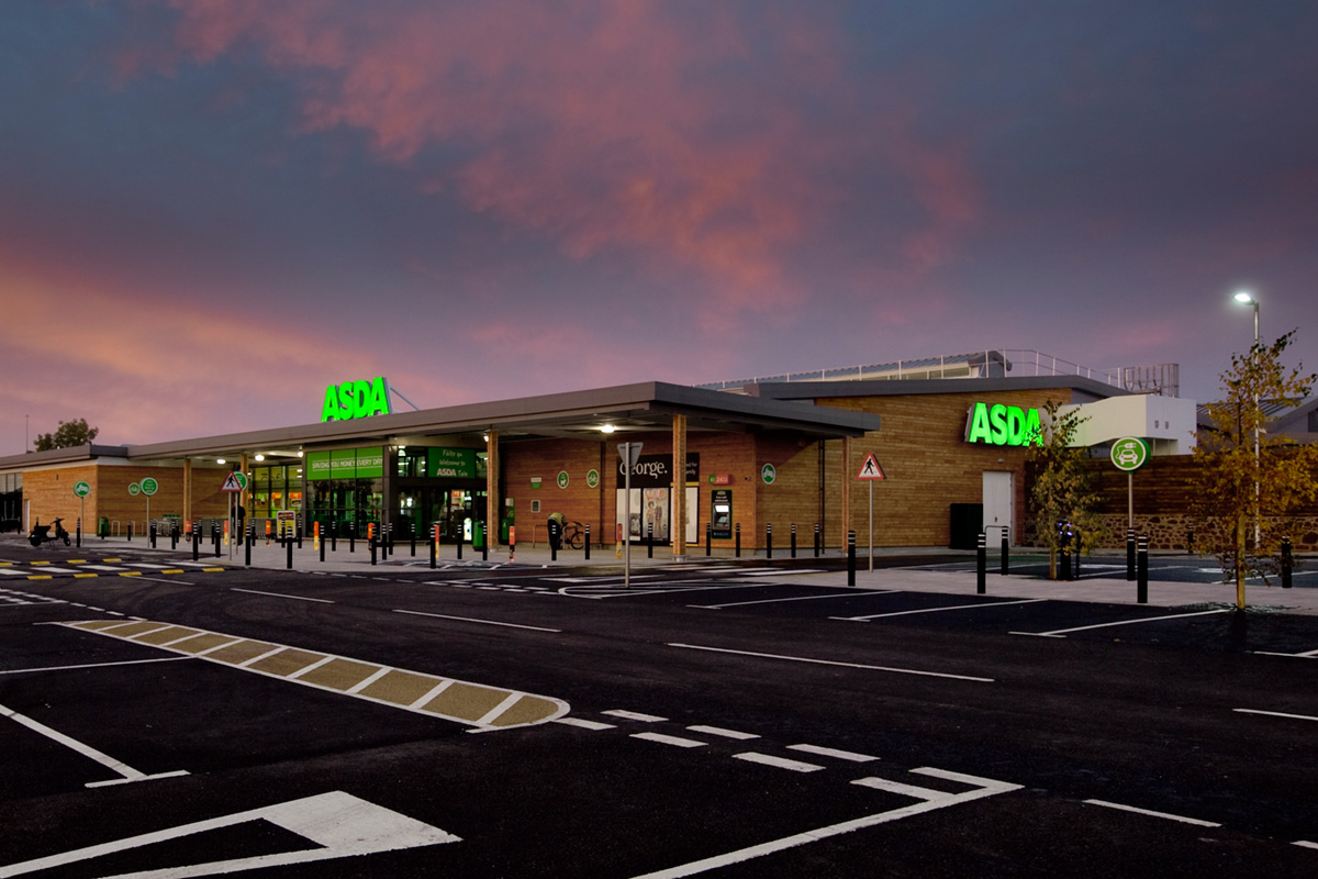 New Asda Supermarket – Tain Scotland