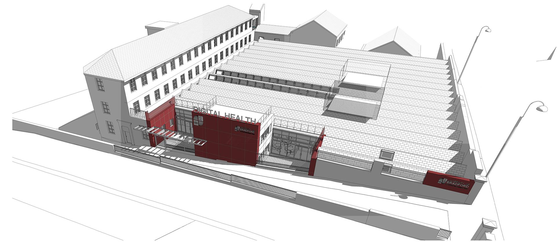 Digital Health Enterprise Zone Academic Building – Bradford