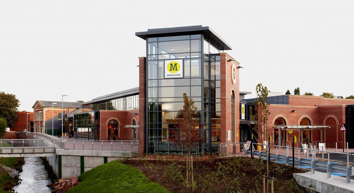 New build wm morrison supermarkets kidderminster - Morrisons plc head office ...