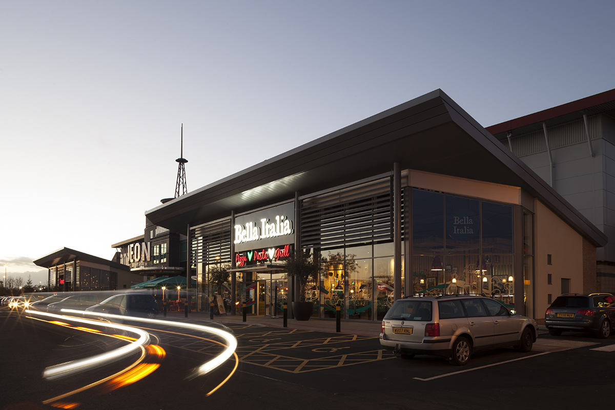 Odeon Cinema Silverlink Retail Units Bowman Riley