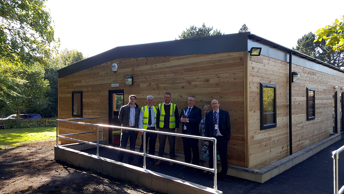 Sue Ryder Modular Office – West Yorkshire