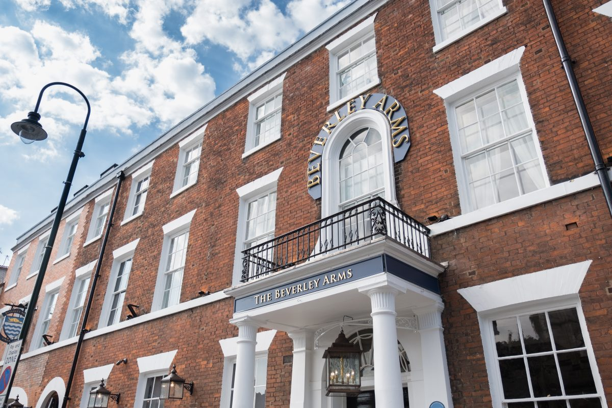 Beverley Arms Named Top 10 British Hotel