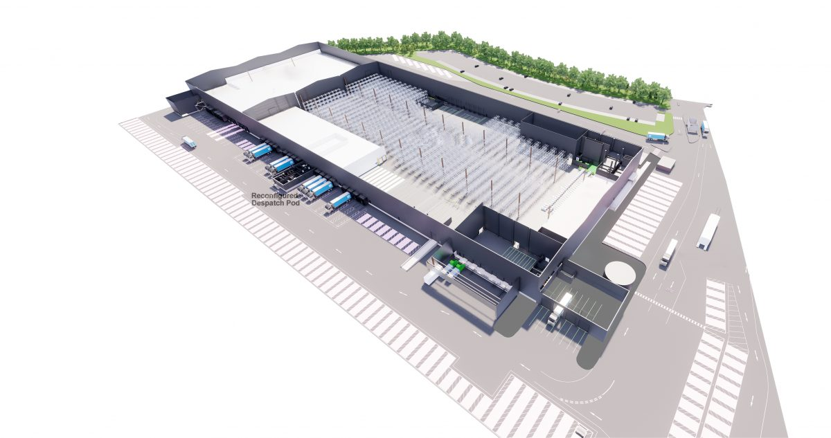 Co-op Distribution Centre – Wellingborough
