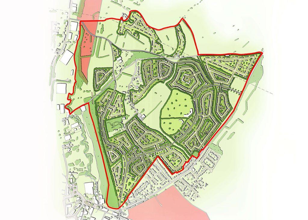 Thornhills Garden Suburb Masterplanning – Brighouse, West Yorkshire