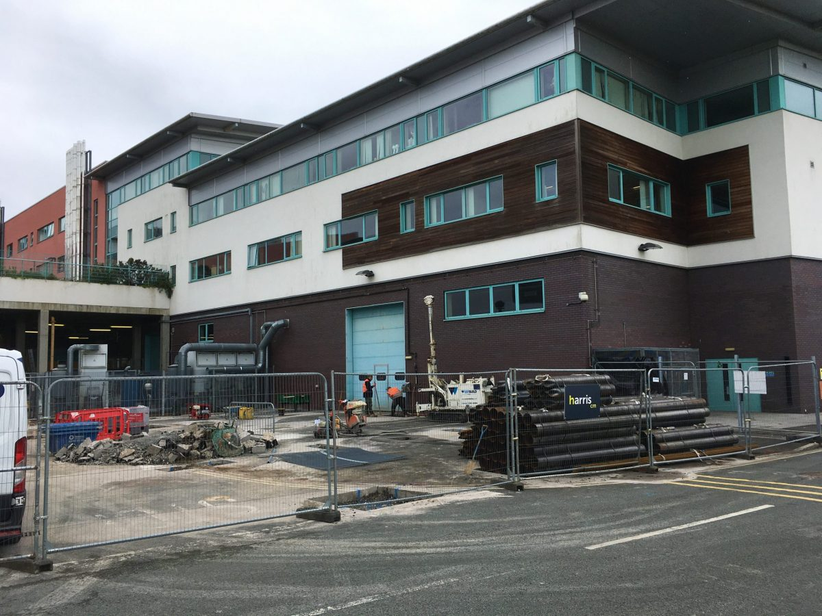 Construction starts to extend York College's motor vehicle and engineering campus