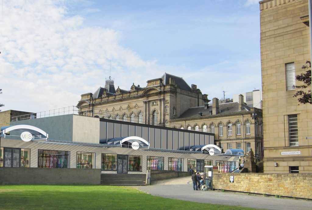 Queensgate Market and the Piazza Shopping Centre – Huddersfield