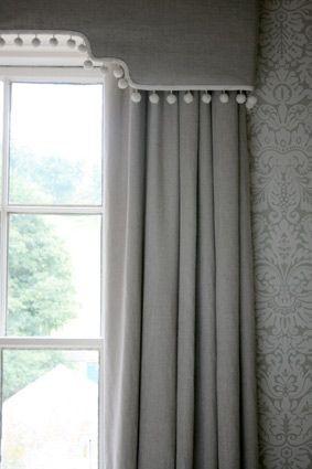 curtain and pelmet detail