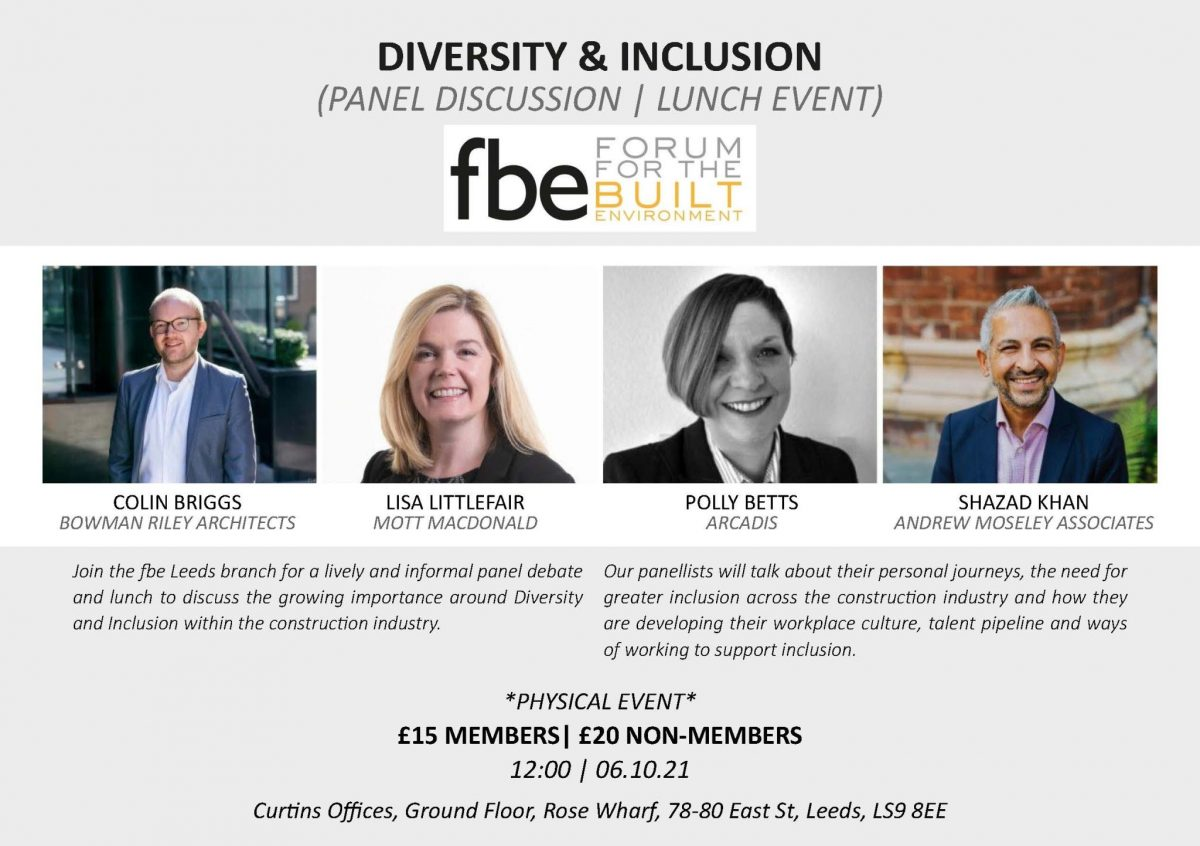 National Inclusion Week 2021 – Progress the Dialogue of Inclusion in our Industry