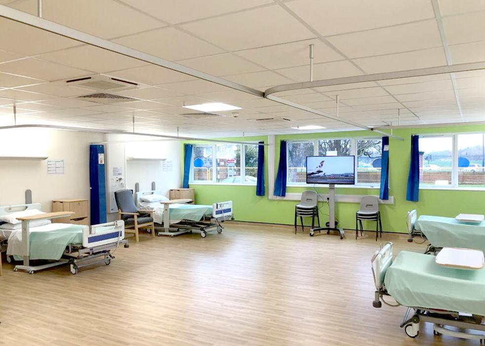 Royal Derby Hospital Temporary Ward Accommodation